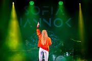 &Ouml;STERSUND - 2017-07-28: Sofia Janokk under Storsj&ouml;yran den 28 juli 2017 i &Ouml;stersund, Sverige. <br /> Foto: Johan Axelsson/Ombrello<br /> ***BETALBILD***