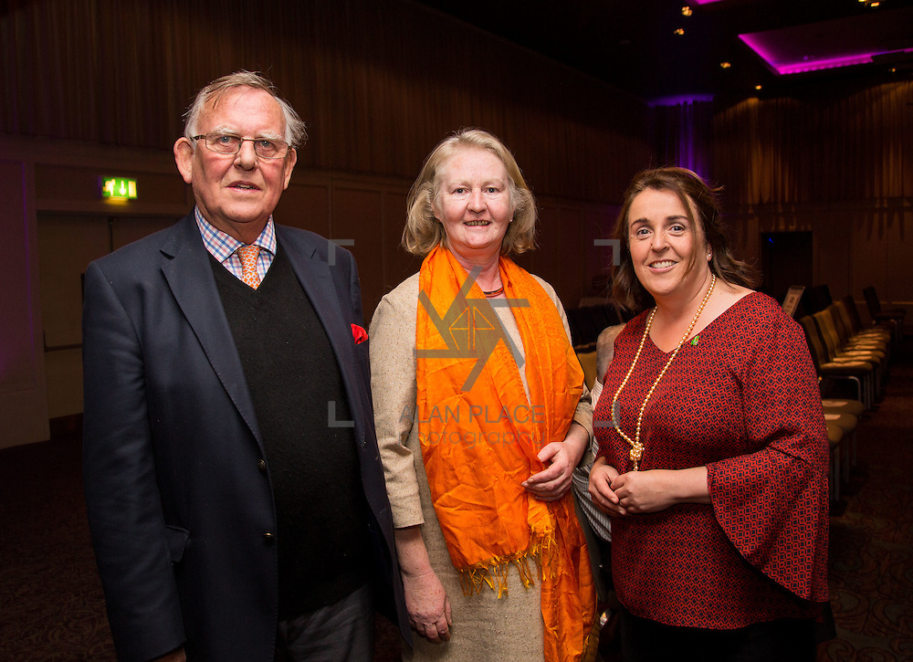 11.10.2016         <br /> Pictured at the Grand Final of the Limerick Going for Gold 2016 Awards were, George Stacpoole, Eleanor Purcell and Sinead O'Donnell, Environment Officer Limerick City and County Council. Picture: Alan Place