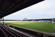Scunthorpe Uniteds ground before the Sky Bet League 1 match between Scunthorpe United and Colchester United at Glanford Park, Scunthorpe, England on 23 January 2016. Photo by Ian Lyall.