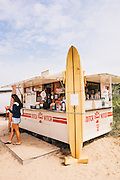 Ditch Witch food truck at Ditch Plains Beach, Montauk, East Hampton, NY