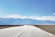 Badwater Basin in Death Valley, California.