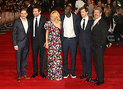October 28, 2015 - Actors Daniel Bruhl, Bradley Cooper, Sienna Miller, Omar Sy, Sam Keeley and director John Wells attending 'Burnt' European Premiere at Vue West End, Leicester Square in London, UK.<br /> ©Exclusivepix Media