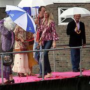 NLD/Amsterdam/20080907 - Gasten van het huwelijksfeest Nina Brink en Pieter Storms