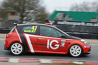 #47 Tom BARLEY Westbourne Motorsport during Michelin Clio Cup Series as part of the BARC NW - Championship Raceday  at Oulton Park, Little Budworth, Cheshire, United Kingdom. March 19 2016. World Copyright Peter Taylor/PSP. Copy of publication required for printed pictures.  Every used picture is fee-liable. http://archive.petertaylor-photographic.co.uk
