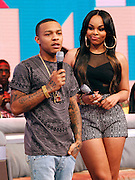 "Bow Wow and Paigion appear on BET's ""106th & Park"" at the CBS Television Center in New York City, New York on March 07, 2013."