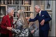 ROBIN DALTON; JACQUI SMALL; NICKY HASLAM, Ralph Lauren host launch party for Nicky Haslam's book ' A Designer's Life' published by Jacqui Small. Ralph Lauren, 1 Bond St. London. 19 November 2014