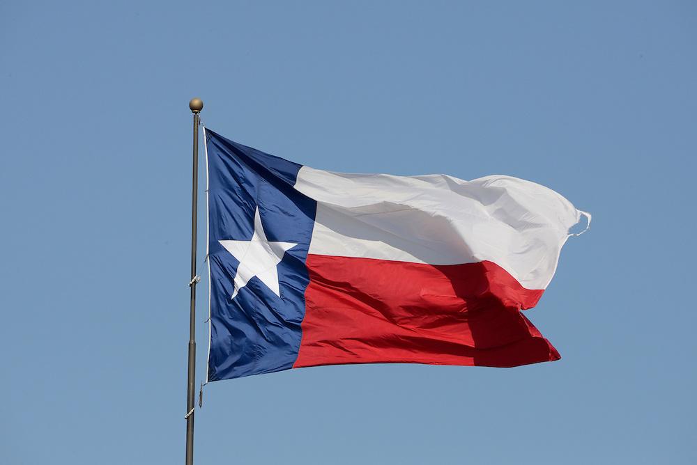 Lone Star Flag,Dallas, Texas,USA