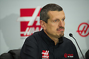 September 29, 2015: Guenther Steiner, Haas F1 Team principle.