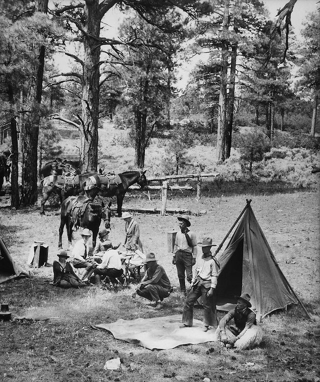 Campsite, Grand Canyon, Arizona, 1926