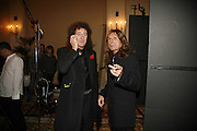 brian May and David Coverdale ( Whitesnake)  , Classic Rock Roll of Honour, Classic Rock magazineÍs annual awards party. Langham Hotel, portland Place. London. 6 November 2006.  ONE TIME USE ONLY - DO NOT ARCHIVE  © Copyright Photograph by Dafydd Jones 66 Stockwell Park Rd. London SW9 0DA Tel 020 7733 0108 www.dafjones.com