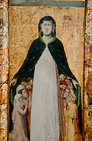 An early Christian painting st the Louvre, Paris