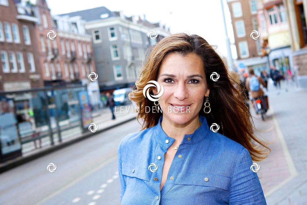 AMSTERDAM - In het Conservatorium Hotel vierde Leco Zadelhoff zijn 45ste verjaardag. Met op de foto  Quinty Trustfull. FOTO LEVIN DEN BOER  - PERSFOTO.NU