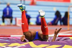 March 2, 2018 - Birmingham, Gangwon, United Kingdom - Yorgelis Rodriguez ofCuba at high jump Pentathlon at World indoor Athletics Championship 2018, Birmingham, England on March 2, 2018. (Credit Image: © Ulrik Pedersen/NurPhoto via ZUMA Press)