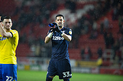 January 26, 2019 - Rotherham, England, United Kingdom - Kiko Casilla of Leeds United and his teammates celebrate winning the Sky Bet Championship match between Rotherham United and Leeds United at the New York Stadium, Rotherham on Saturday 26th January 2019. (Credit Image: © Mark Fletcher/NurPhoto via ZUMA Press)