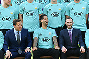 Jade Dernbach (C) in T20 kit during Surrey County Cricket Club Media Day at the Kia Oval, Kennington, United Kingdom on 16 April 2018. Picture by Alistair Wilson.
