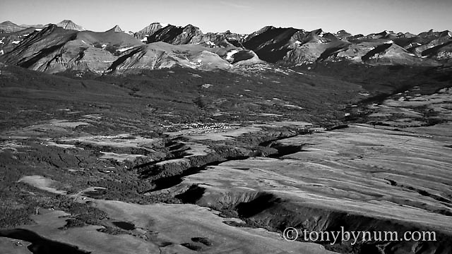 two medicine river, east glacier park, montana conservation photography - blackfeet oil