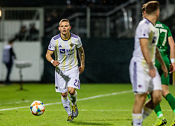 Martin Milec of NK Maribor during a football game between NK Olimpija Ljubljana and NK Maribor in Final Round (18/19)  of Pokal Slovenije 2018/19, on 30th of May, 2014 in Arena Z'dezele, Ljubljana, Slovenia. Photo by Matic Ritonja / Sportida