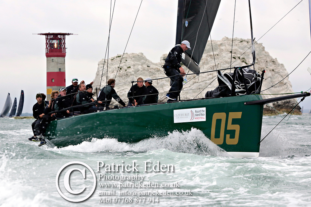 2017, July 1, Round the island Race, Round the Island Race, UK, Isle of Wight, Cowes REBELLION