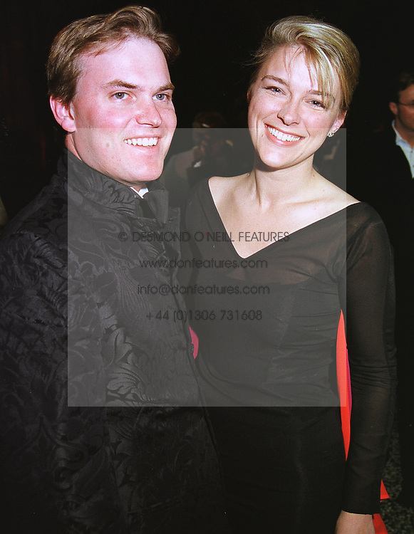 LORD & LADY DALMENY at a ball in London on 25th May 1999.MSM 94
