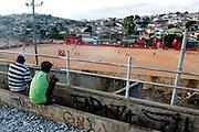 Belo Horizonte_MG, Brasil...1a Copa Kaiser de Futebol Amador de Belo Horizonte. Na foto partida entre Felicidade x Nacional...1st Kaiser Cup of Amateur Football in Belo Horizonte. The match was between  Felicidade x Nacional...Foto: VICTOR SCHWANER / NITRO