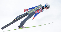04.01.2015, Bergisel Schanze, Innsbruck, AUT, FIS Ski Sprung Weltcup, 63. Vierschanzentournee, Innsbruck, 1. Wertungssprung, im Bild Johann Forfang (NOR) // Johann Forfang of Norway soars trought the air during his first competition jump for the 63rd Four Hills Tournament of FIS Ski Jumping World Cup at the Bergisel Schanze in Innsbruck, Austria on 2015/01/04. EXPA Pictures © 2015, PhotoCredit: EXPA/ JFK