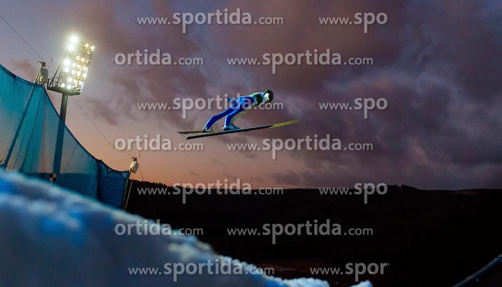 02.12.2016, Vogtland Arena, Klingenthal, GER, FIS Weltcup Ski Sprung, Klingenthal, im Bild Jaka Hvala (SLO) // Jaka  Hvala of Slovenia during the mens FIS Skijumping World Cup at the Vogtland Arena in Klingenthal, Germany on 2016/12/02. EXPA Pictures © 2016, PhotoCredit: EXPA/ JFK
