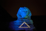 Sound and Light Show  The Sphinx and The Great Pyramids at Giza  Giza, Egypt