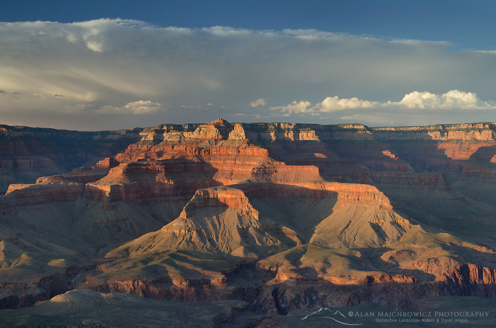 Storm over the North Rim of Grand Canyon seen from Cedar Ridge, Grand Canyon National Park