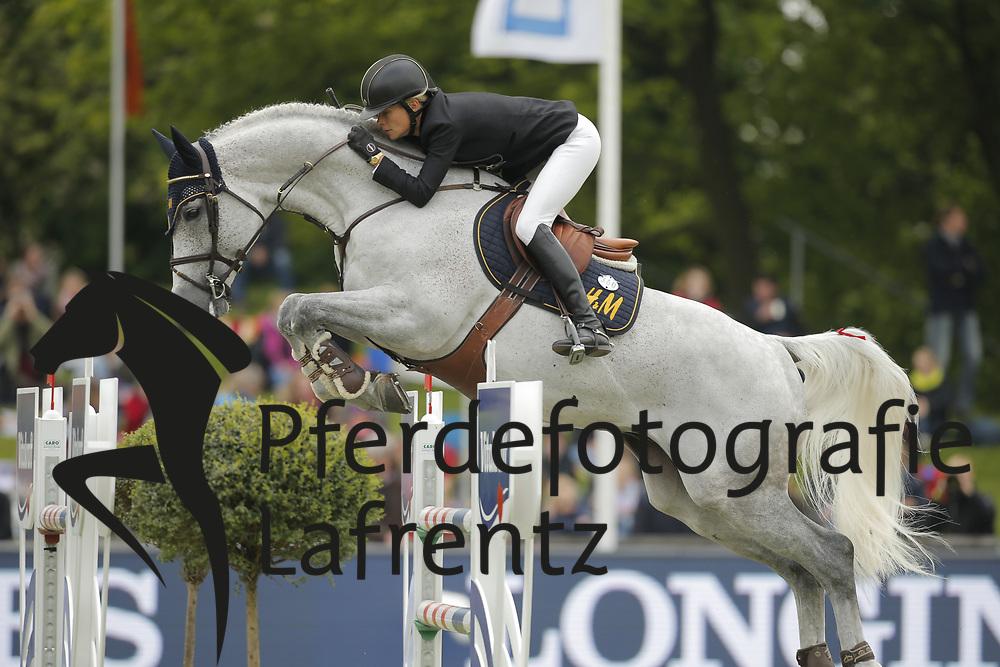 Baryard-Johnsson, Malin, Corporal VDL<br /> Hamburg - Hamburger Derby 2015<br /> Baker Tilly Roelfs Trophy<br /> © www.sportfotos-lafrentz.de/Stefan Lafrentz