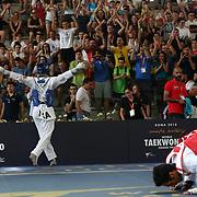 Roma 03/06/2018 Stadio Pietrangeli<br /> World Taekwondo Gran Prix<br /> Uomini -80 Kg<br /> Roberto Botta