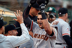 20180720 - San Francisco Giants at Oakland Athletics