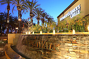McCormick & Schmicks Grille Restaurant at the Anaheim Garden Walk at Dusk