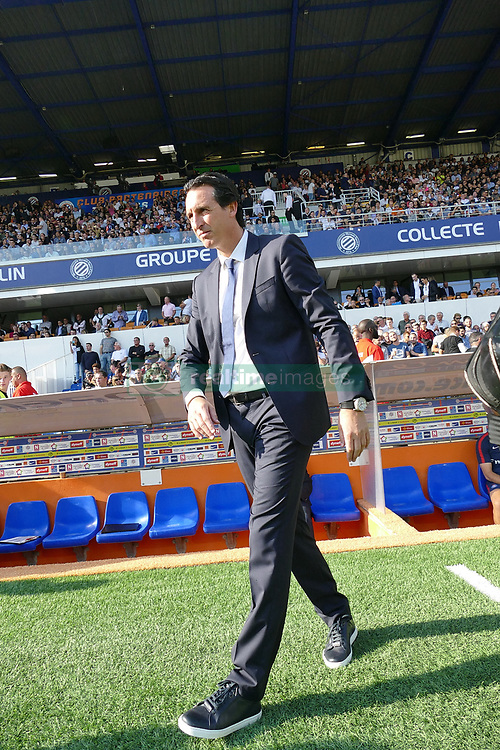 September 23, 2017 - Montpellier, France - Unai Emery, entraineur PSG (Credit Image: © Panoramic via ZUMA Press)
