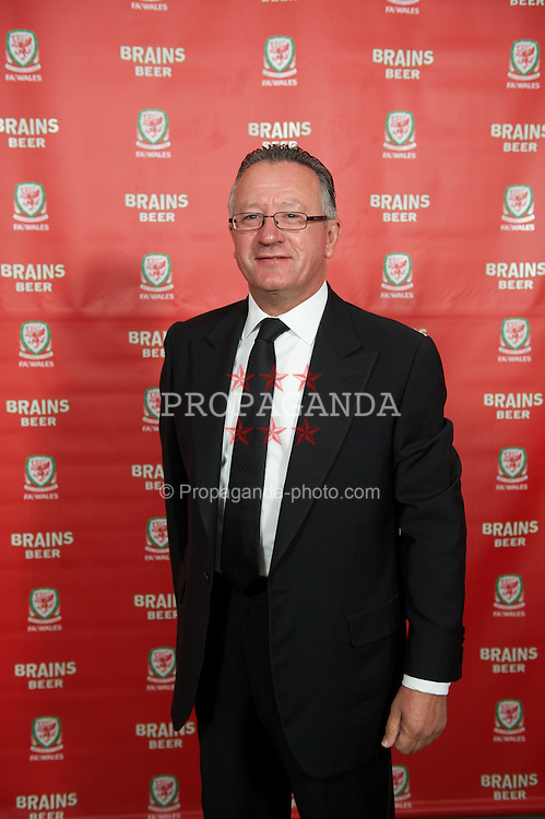 CARDIFF, WALES - Tuesday, October 4, 2011:  xxxx arrives for the FAW Footballer of the Year Awards 2011 at the Wales National Museum. (Pic by David Rawcliffe/Propaganda)
