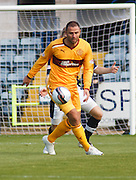 Motherwell's Michael Higdon - Dundee v Motherwell, Clydesdale Bank Scottish Premier League at Dens Park.. - © David Young - 5 Foundry Place - Monifieth - DD5 4BB - Telephone 07765 252616 - email: davidyoungphoto@gmail.com - web: www.davidyoungphoto.co.uk