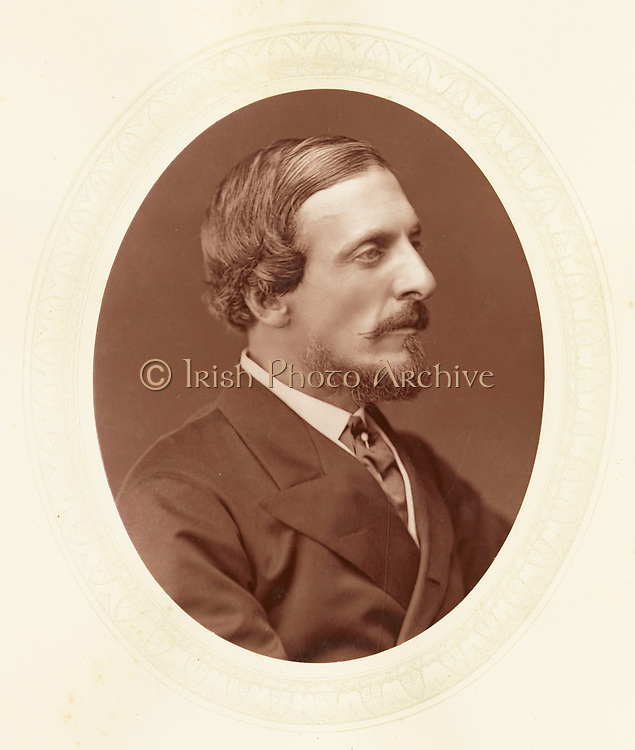 'Frederick Temple Hamilton-Temple-Blackwood, 1st Marquess of Dufferin and Ava (1826–1902) c1880, English diplomat and administrator: Governor-General of Canada 1872-1878.  Viceroy and Governor-General of India 1884-1888.'