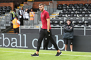 Angus Gunn of Norwich before the Sky Bet Championship match at Craven Cottage, London<br /> Picture by Paul Chesterton/Focus Images Ltd +44 7904 640267<br /> 05/08/2017