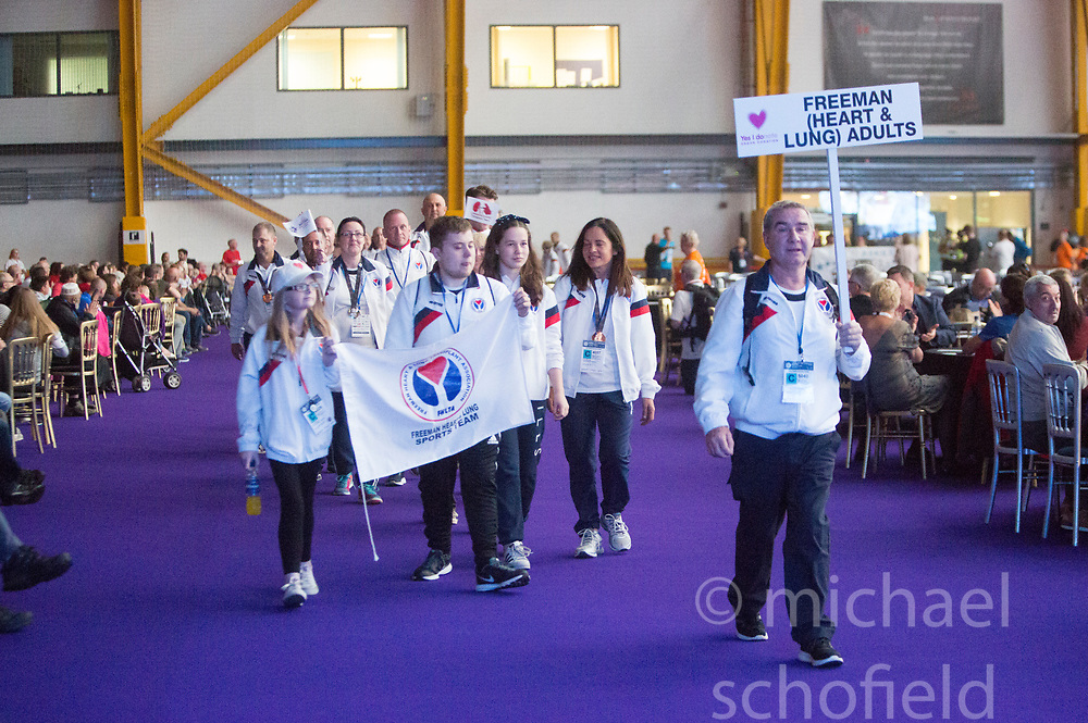 Westfield Health British Transplant Games North Lanarkshire 2017.