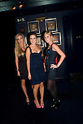 JEMIMA CADBURY; PHILIPPA CADOGAN; CLEMENTINE MALIN, The Tatler Little Black Book party. Tramp. 40 Jermyn St. London SW1 *** Local Caption *** -DO NOT ARCHIVE-© Copyright Photograph by Dafydd Jones. 248 Clapham Rd. London SW9 0PZ. Tel 0207 820 0771. www.dafjones.com.