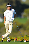 Ryuji Imada waits to tee off on the fifth hole on the North Course during the pro-am prior to the Farmers Insurance Open at Torrey Pines on Jan. 25, 2012 in San Diego, California...©2012 Scott A. Miller