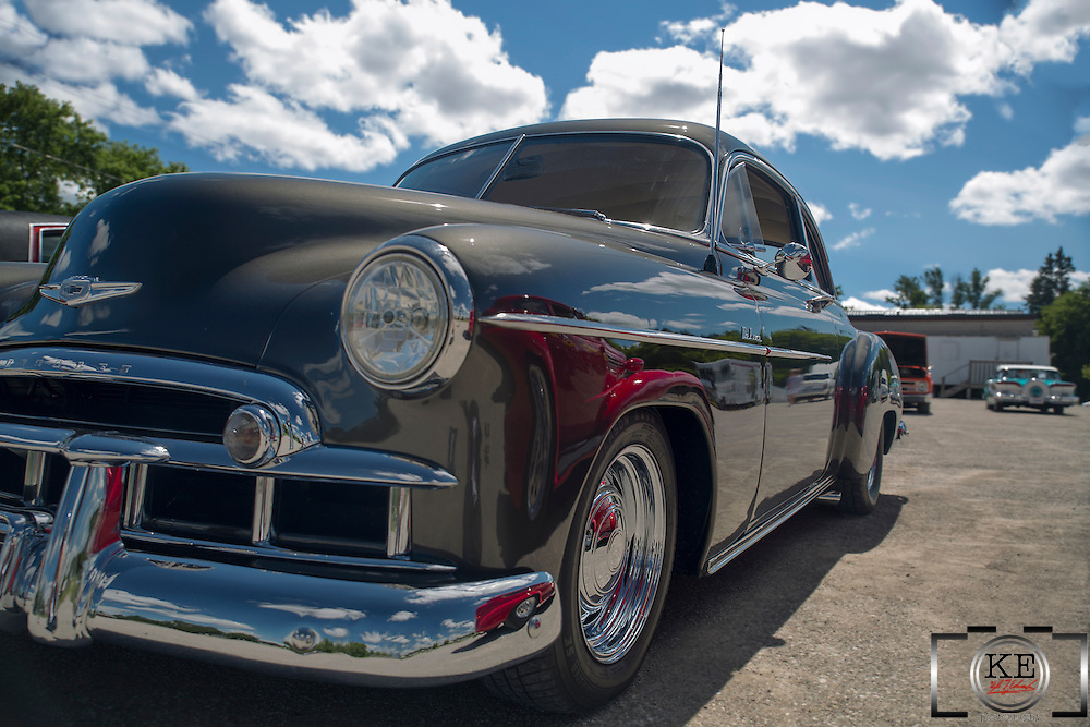 A 1949 Chevy Sport Coupe