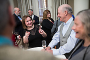 Julian and Rachel celebrate their engagement with family and friends at the Westin San Jose in San Jose, California, on February 26, 2017. (Stan Olszewski/SOSKIphoto)