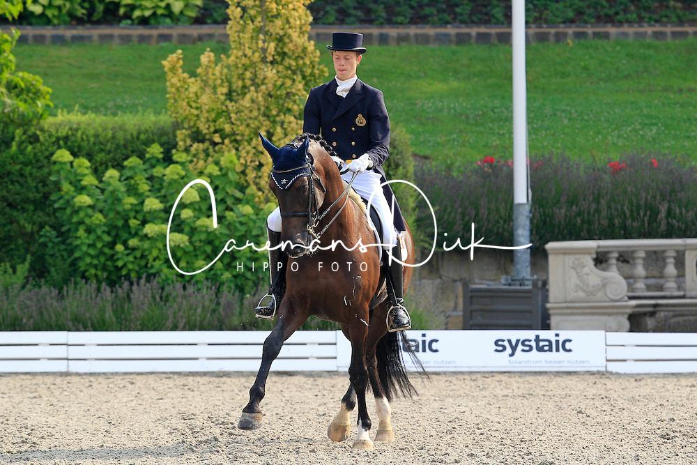 D Hoore Brecht (BEL) - Sital<br /> European Championships Young Riders 2010<br /> &copy; Hippo Foto - Leanjo de Koster