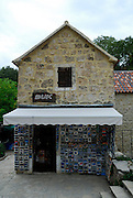 Souvenir and book store, Krka National Park, Croatia