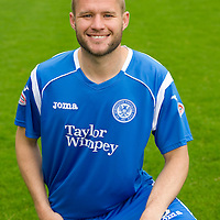 St Johnstone Photocall, Season 2010-11<br /> Kevin Rutkiewicz<br /> Picture by Graeme Hart.<br /> Copyright Perthshire Picture Agency<br /> Tel: 01738 623350  Mobile: 07990 594431