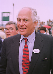 SIR EVELYN DE ROTHSCHILD at a race meeting in Berkshire on 26th September 1998.MKI 23