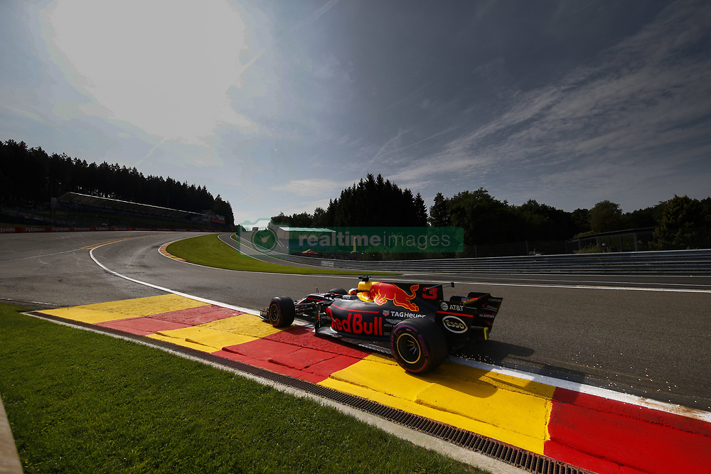 August 25, 2017 - Spa-Francorchamps, Belgium - Motorsports: FIA Formula One World Championship 2017, Grand Prix of Belgium, .#3 Daniel Ricciardo (AUS, Red Bull Racing) (Credit Image: © Hoch Zwei via ZUMA Wire)