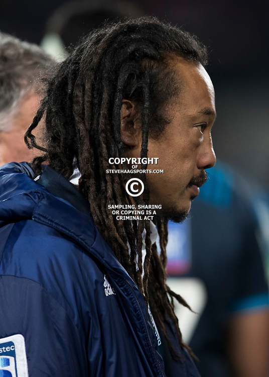 Tana Umaga, Eden Park, Auckland game 2 of the British and Irish Lions 2017 Tour of New Zealand,The match between the Auckland Blues and British and Irish Lions, Wednesday 7th June 2017   <br /> <br /> (Photo by Kevin Booth Steve Haag Sports)<br /> <br /> Images for social media must have consent from Steve Haag