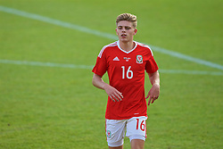 WREXHAM, WALES - Friday, September 2, 2016: Wales' Jake Charles in action against Denmark during the UEFA Under-21 Championship Qualifying Group 5 match at the Racecourse Ground. (Pic by Paul Greenwood/Propaganda)