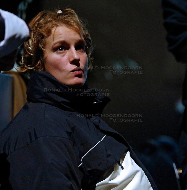 21-05-2005 JUDO: EUROPEES KAMPIOENSCHAP: ROTTERDAM<br /> Edith Bosch heeft in Rotterdam haar Europese titel met een jaar verlengd. De Vlaardingse was in 'eigen huis' te sterk voor Ylenia Scapin, de ervaren vos uit Itali&euml;<br /> &copy;2005-WWW.FOTOHOOGENDOORN.NL